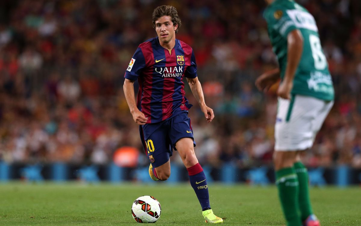 Argreement to extend Sergi Roberto's contract to June 30, 2019