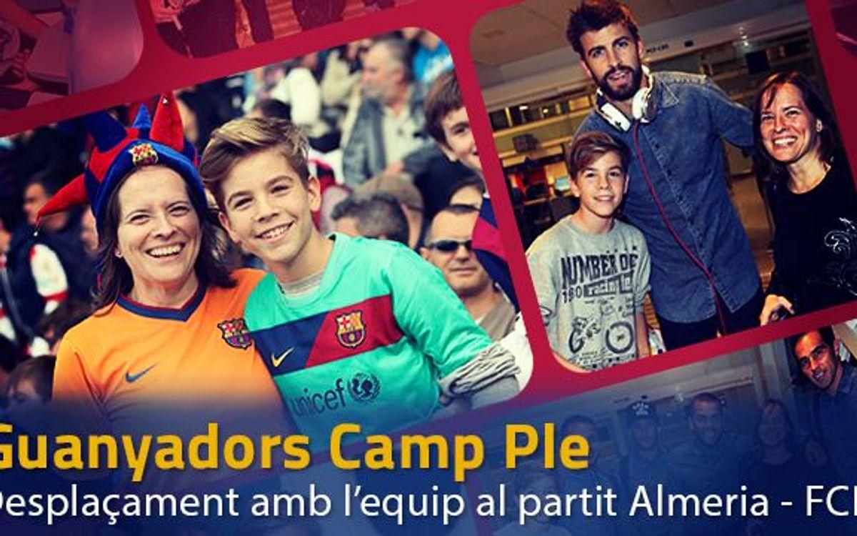 Viatgen amb Messi, Suárez i companyia