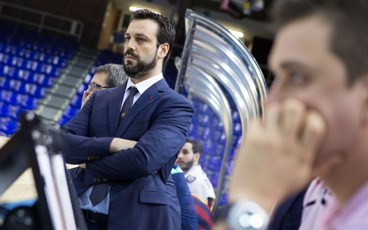 """Ricard Muñoz: """"Jugar la Final a Quatre al Palau és un orgull"""""""