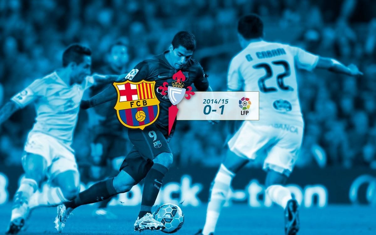 FC Barcelona: 0 - Celta: 1