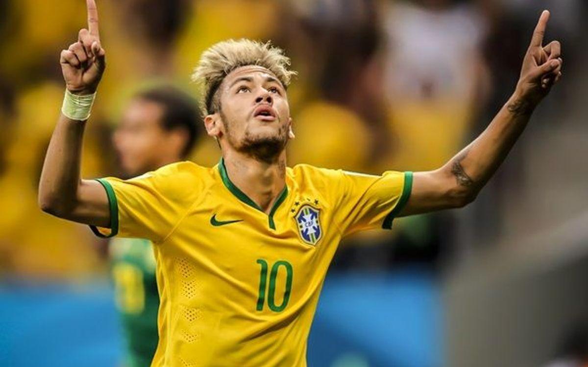 Four-goal Neymar makes history (0-4)