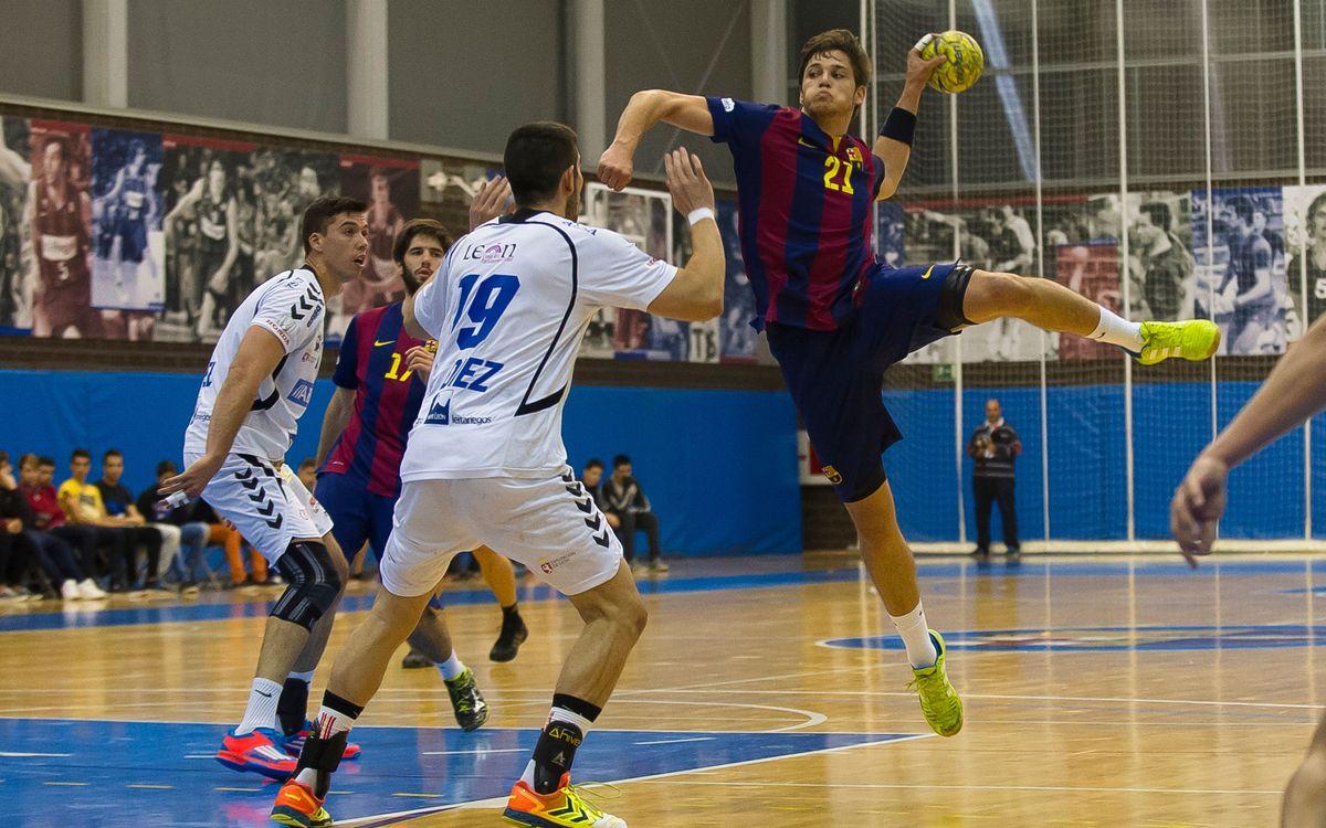 Abanca Ademar Lleó – FC Barcelona B: Amb el cap ben alt (31-36)