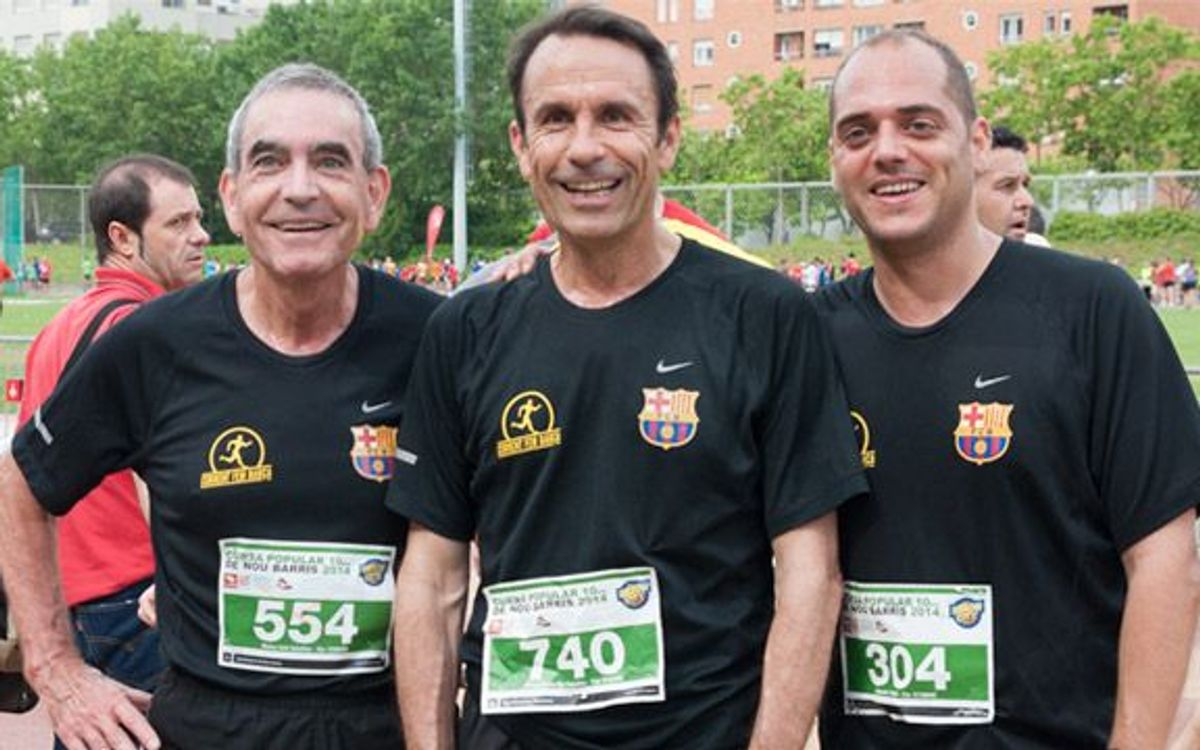 Guanyadors 2a Lliga 'Corrent fem Barça'