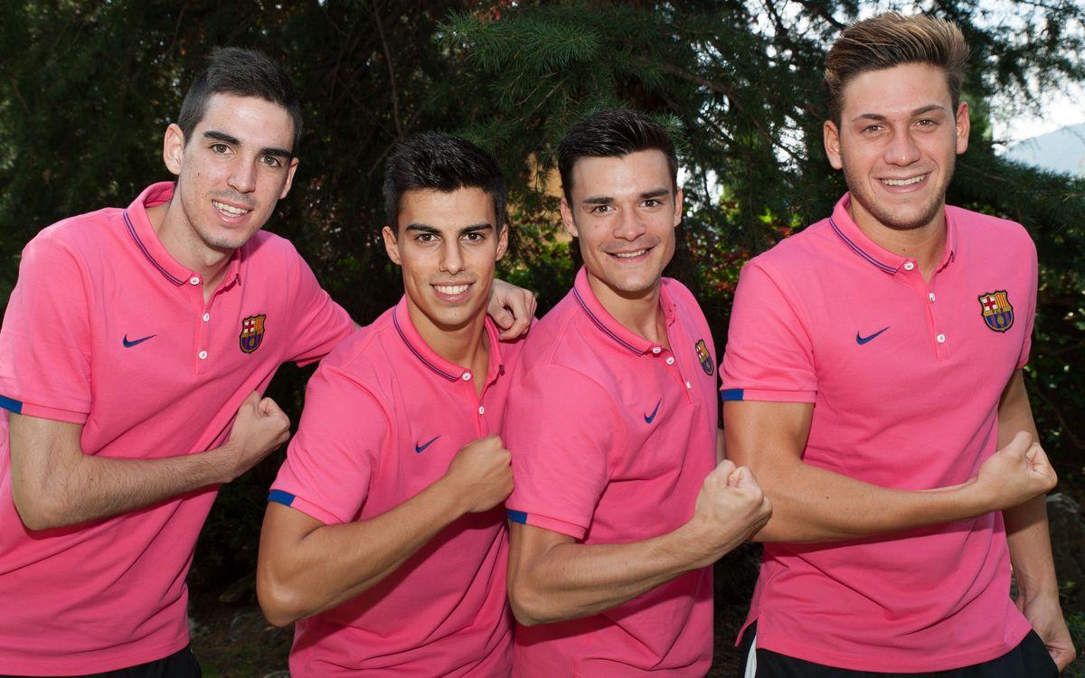 Ortego, Pacheco, Miñano i Ferran, amb el primer equip a Encamp