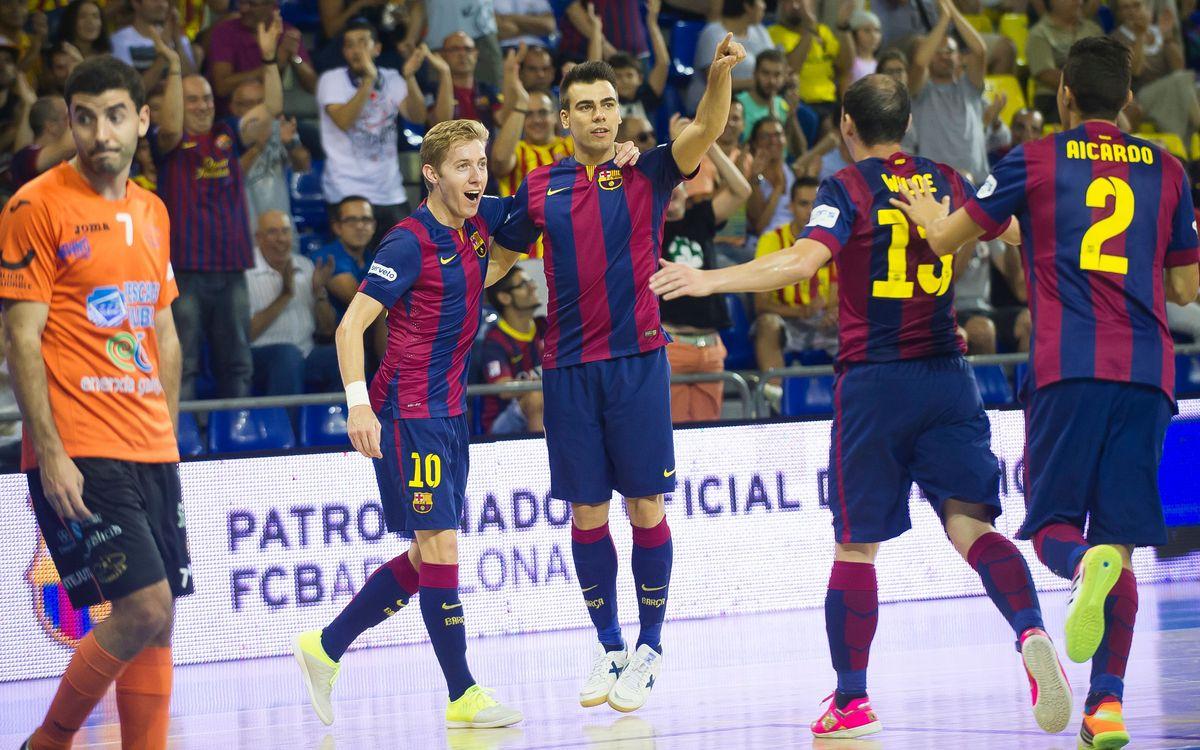 FC Barcelona - Burela: Ho han de treballar bé (5-2)