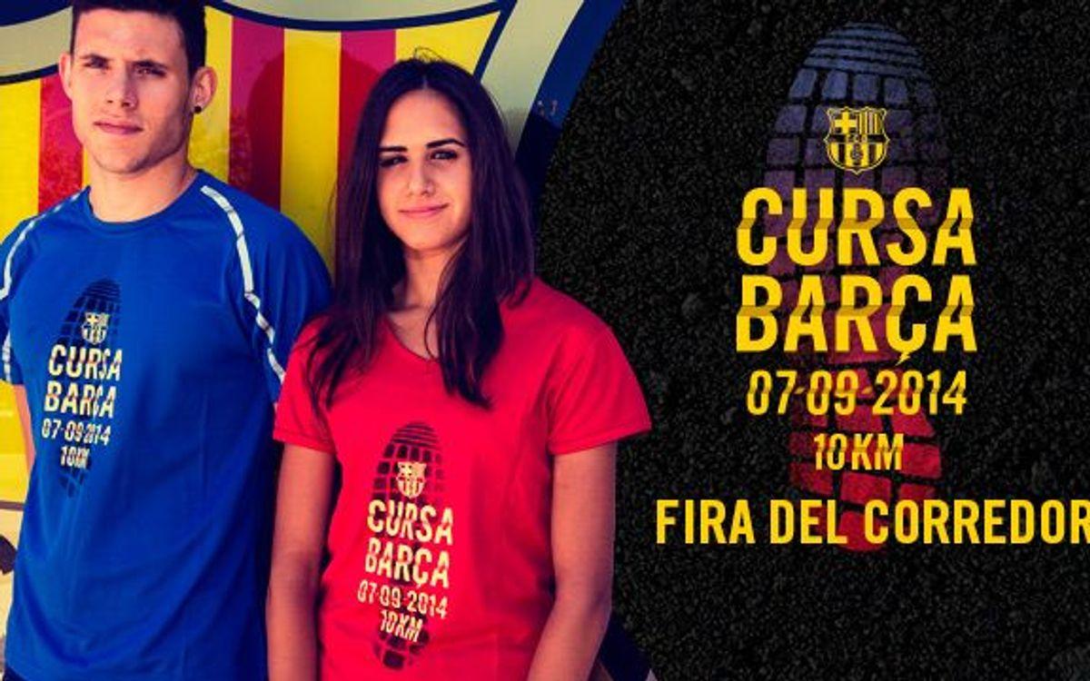 Cursa Barça: Recollida de dorsal, xip i samarreta