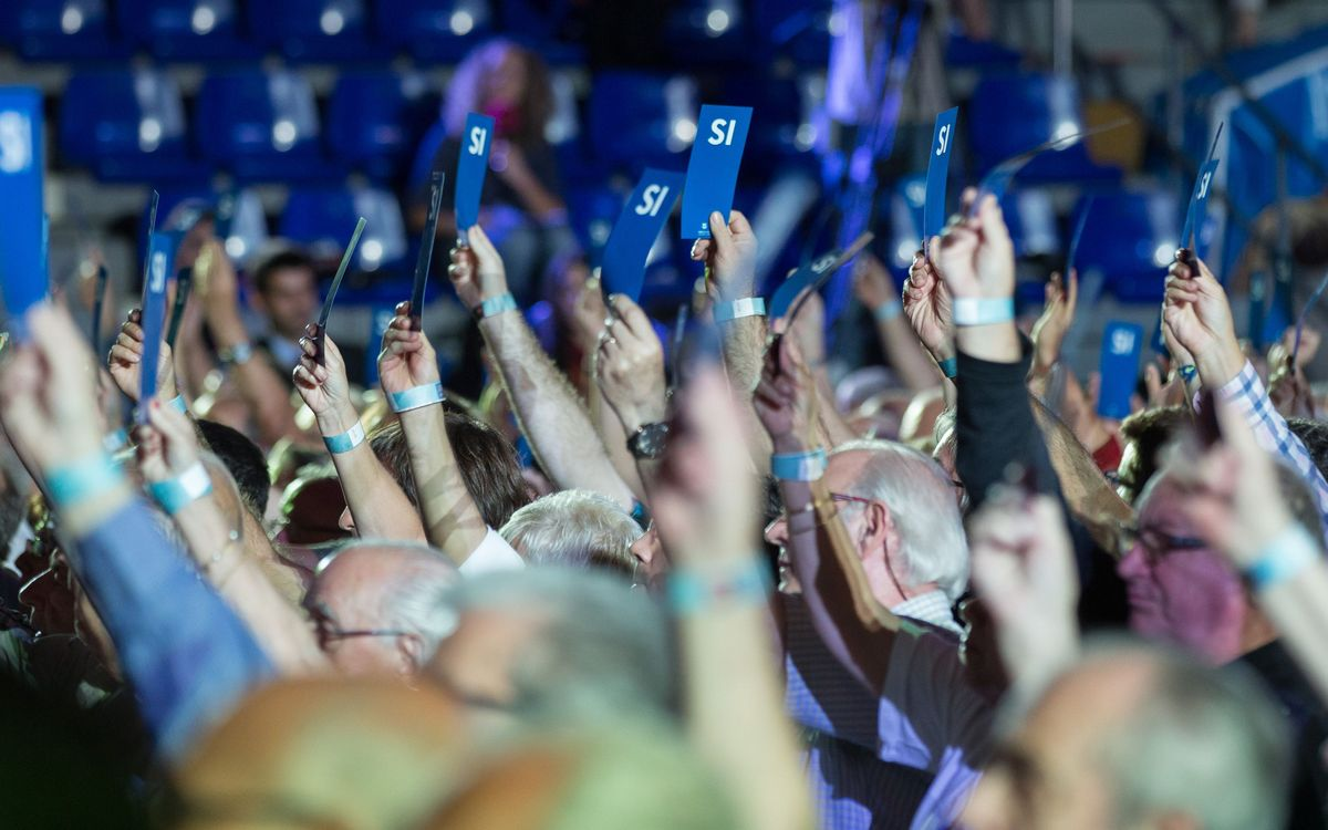 LIVE - Ordinary General Assembly at the Palau de Congressos de Barcelona