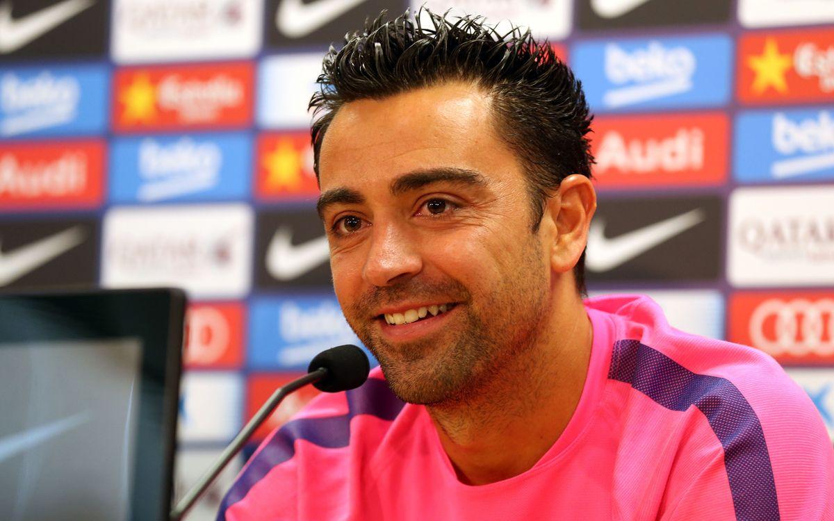 LIVE - Xavi Hernández press conference