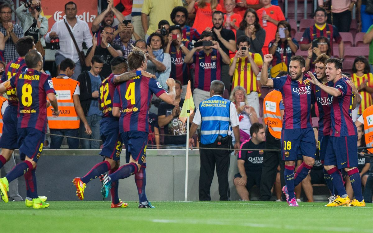 Barça sets off as leader yet again