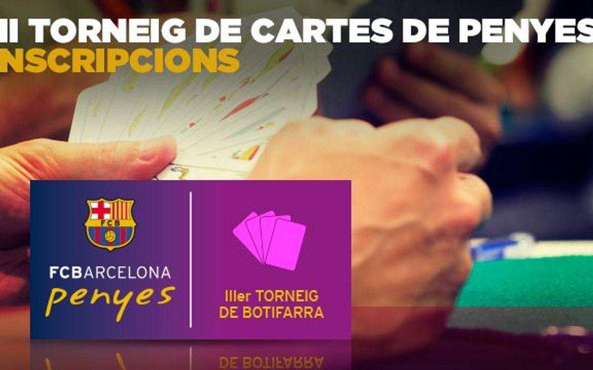 Torneig de Cartes de Penyes del FC Barcelona