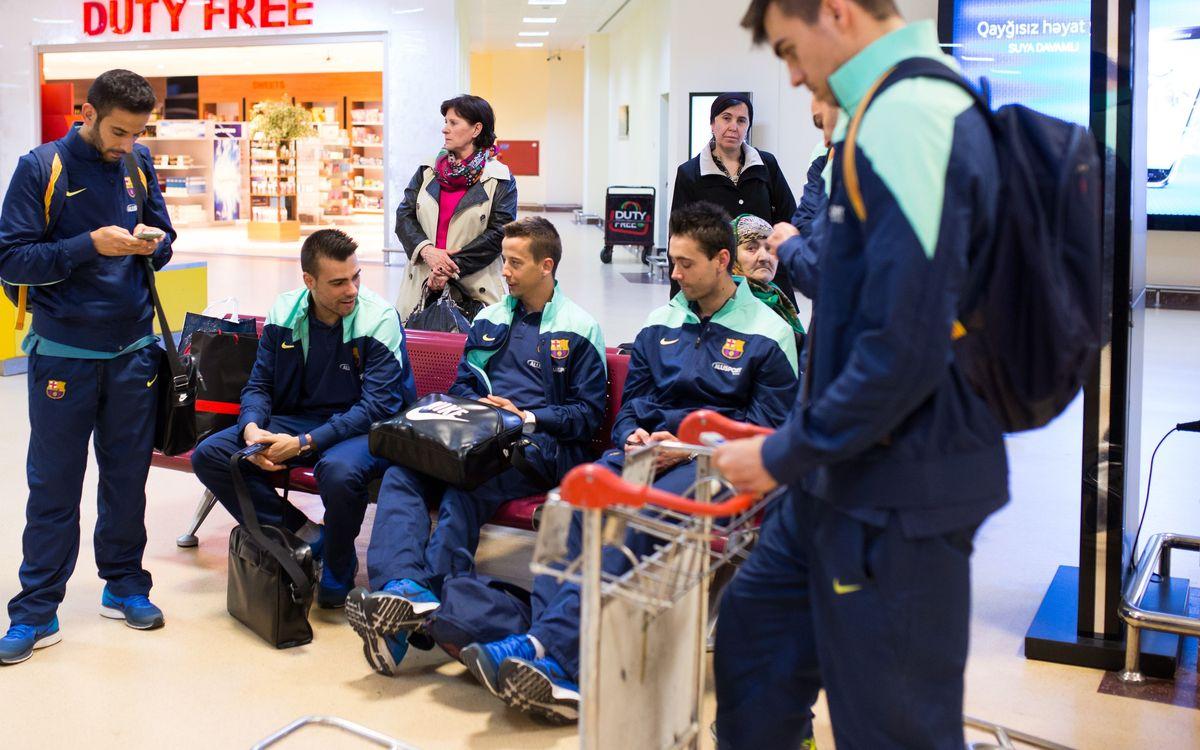 El FC Barcelona sale hacia Indonesia