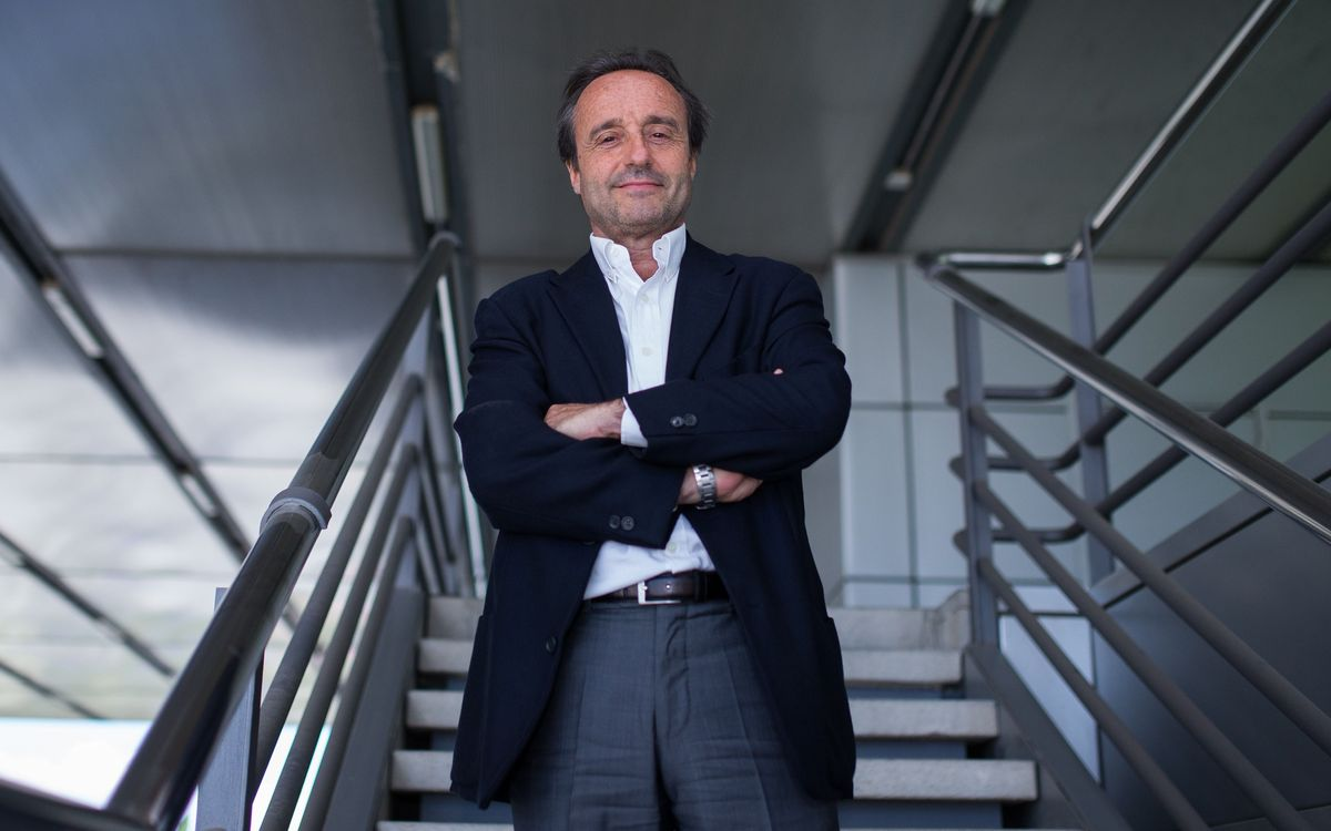 Emili Sabadell, nou director del primer equip de futbol