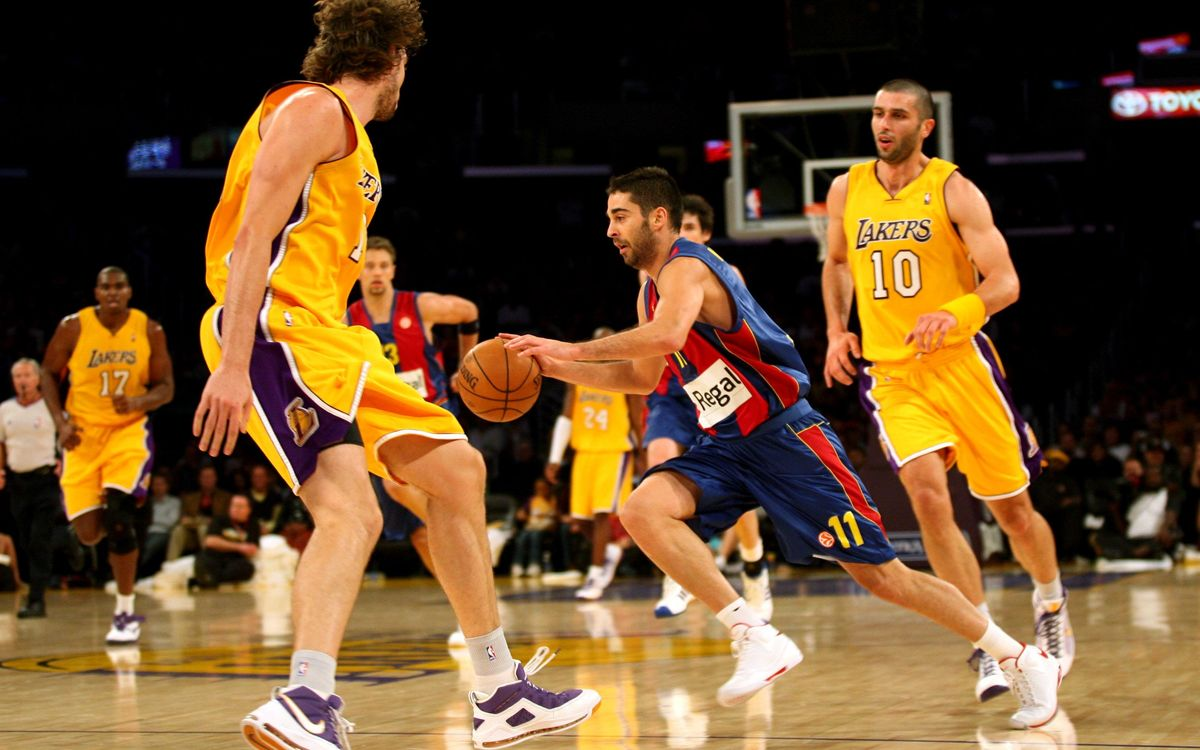El recuerdo de la gira americana del Barça de baloncesto