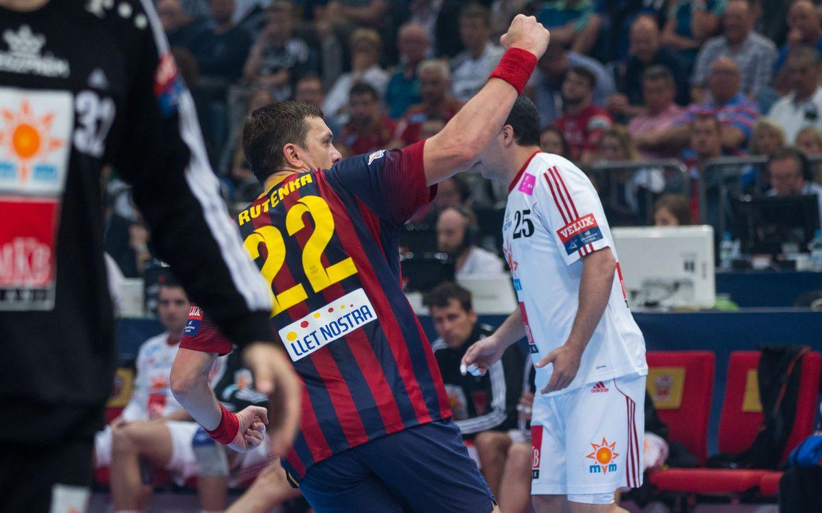 FC Barcelona- MKB-MVM Veszprém: Triomf sense consol (26-25)