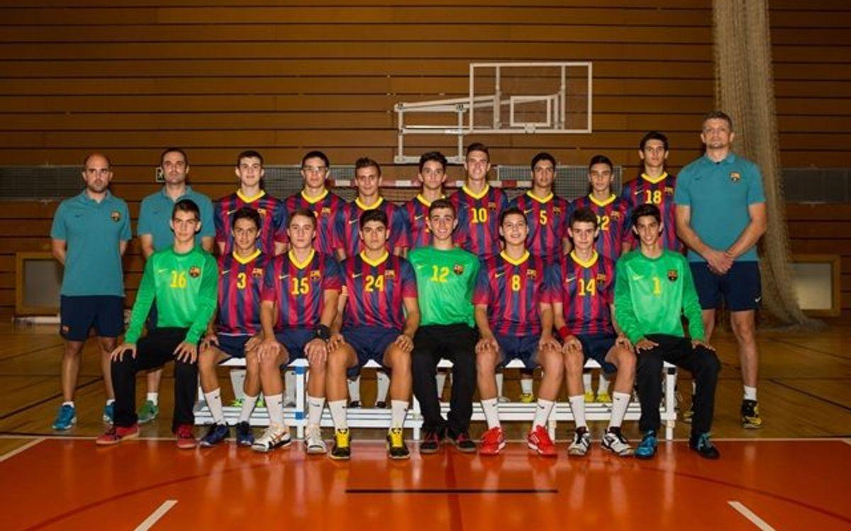 El Cadete A, campeón de España en León