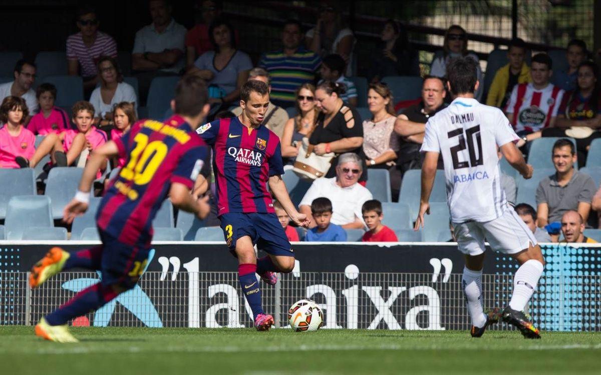 Barça B v Lugo highlights (0-1)
