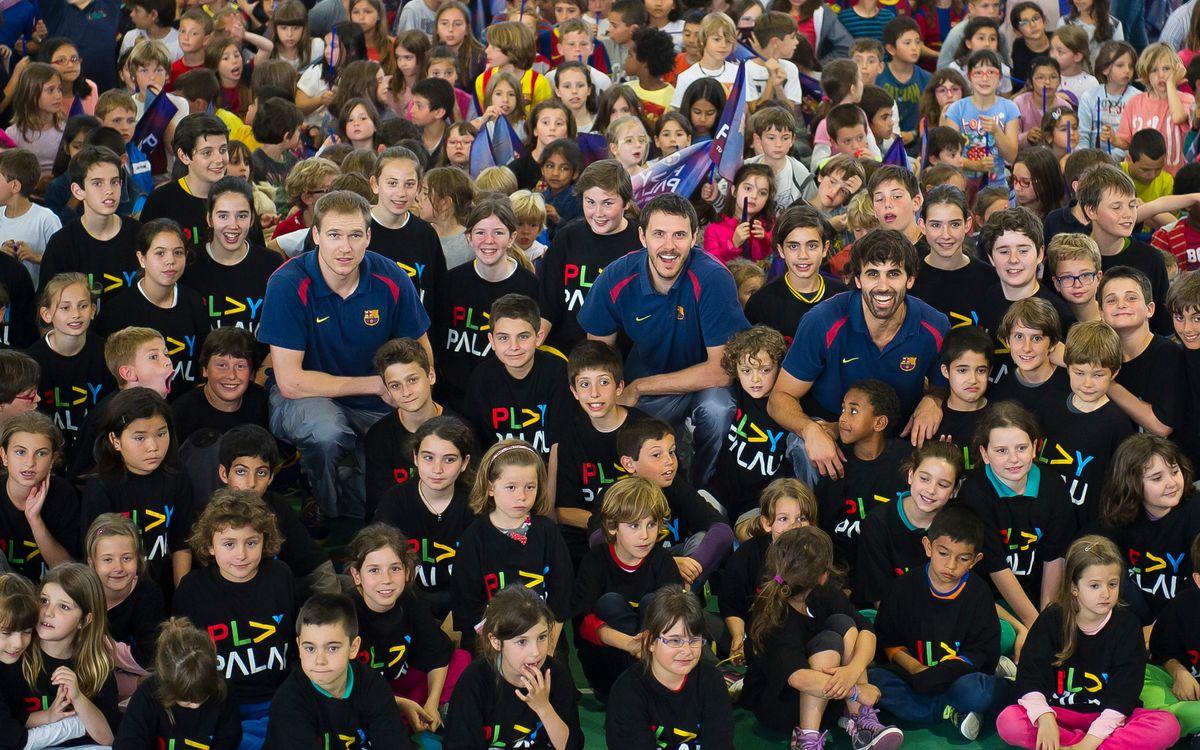 Lliçó pràctica de Sada, Oleson i Nachbar a 800 nens