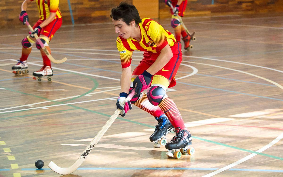 Román, Nájera y Arcas, listos para el Europeo juvenil de hockey patines