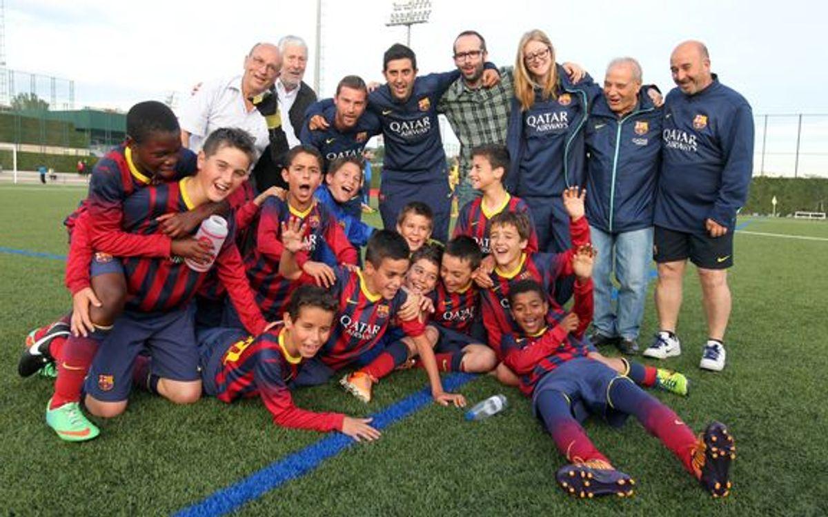 El Alevín D, ¡campeón de Liga!