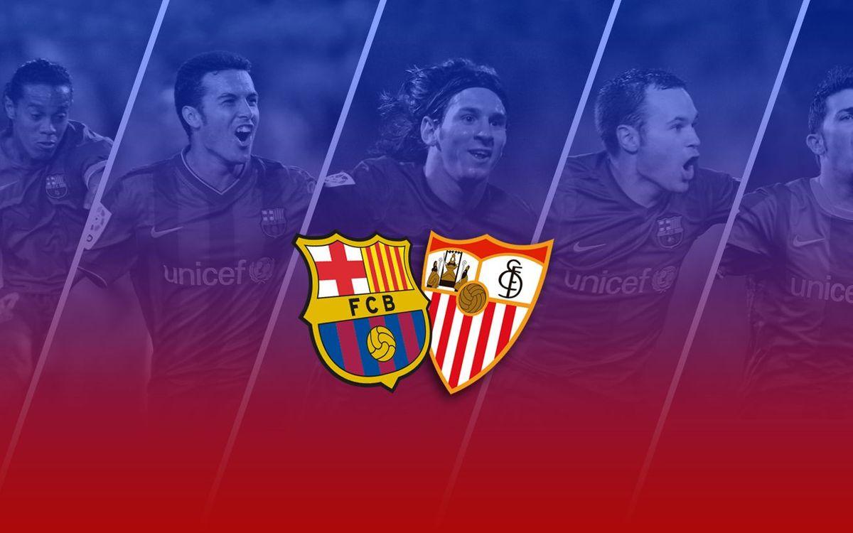 TOP5: All-time goals vs. Sevilla at Camp Nou