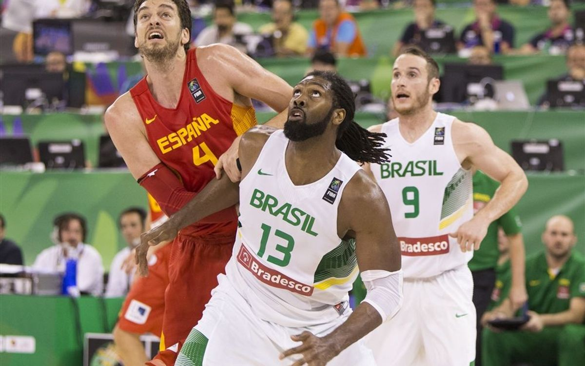 Navarro and Abrines star as Spain smash Marcelinho's Brazil