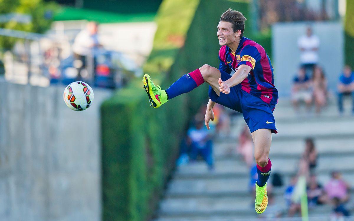 El filial se estrena en el Mini esta temporada ante el Sabadell