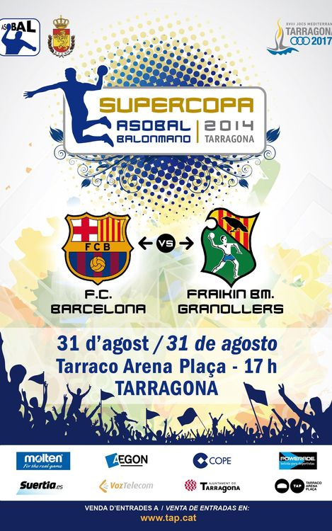 Las entradas de la Supercopa Asobal, a la venta