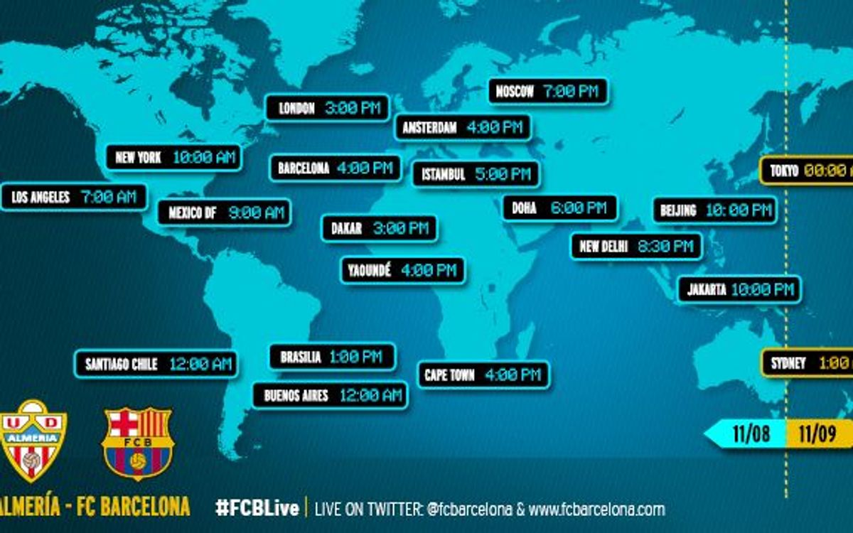 When and where to watch the La Liga match between Almería and FC Barcelona