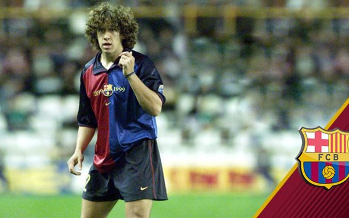 14 years since Puyol's debut for FC Barcelona