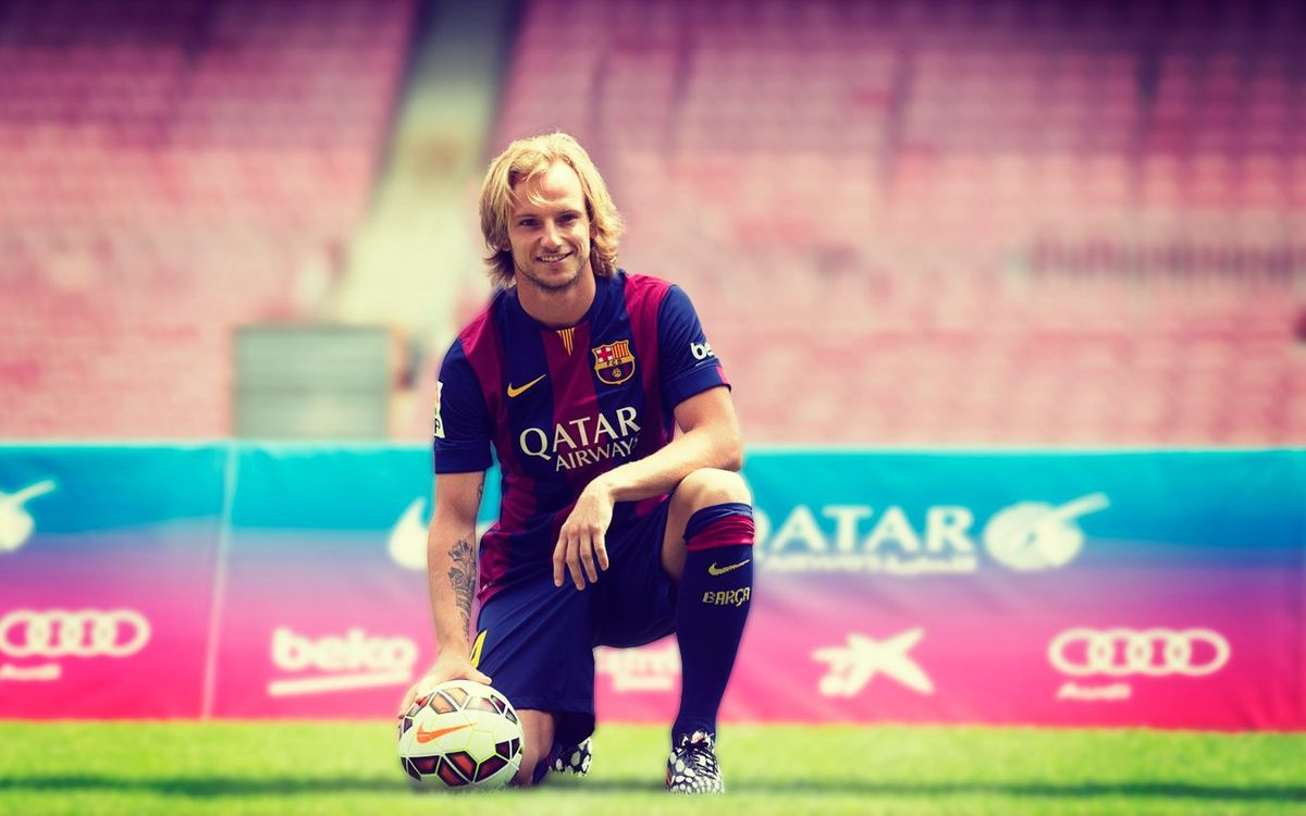 Rakitic, Barca's new number 4