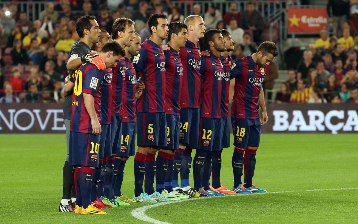 El Camp Nou recorda Gustau Biosca