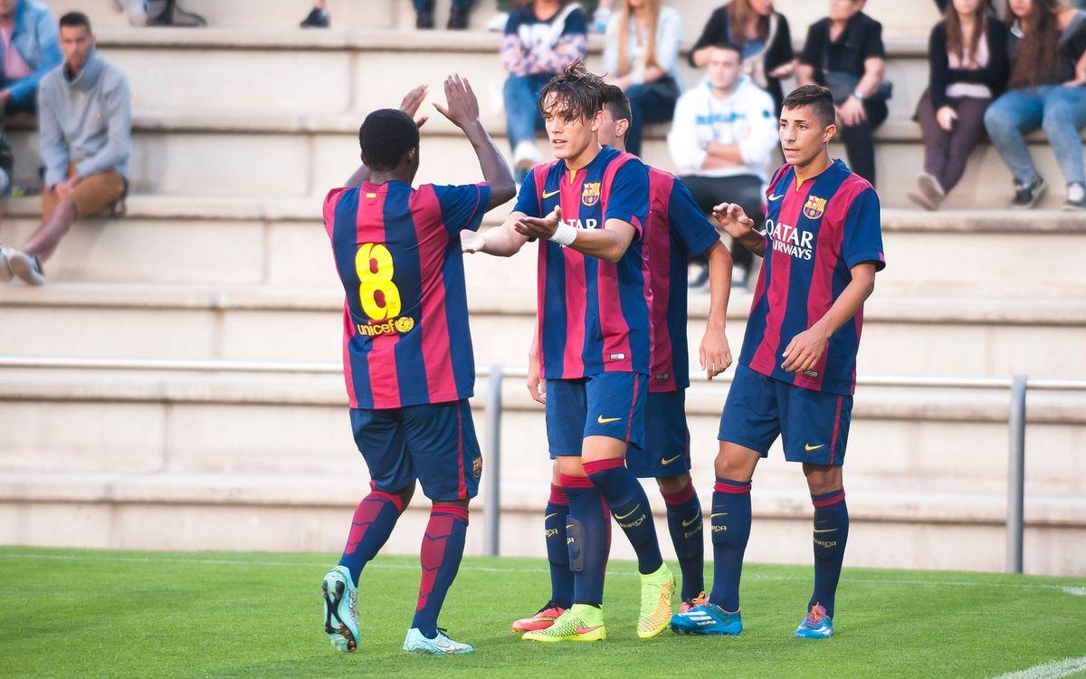 CF Badalona – Juvenil A: Triomf de la persistència (1-3)