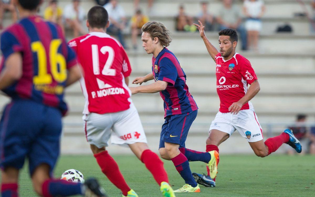 EN DIRECTO - FC Barcelona B - Llagostera (Amistoso)