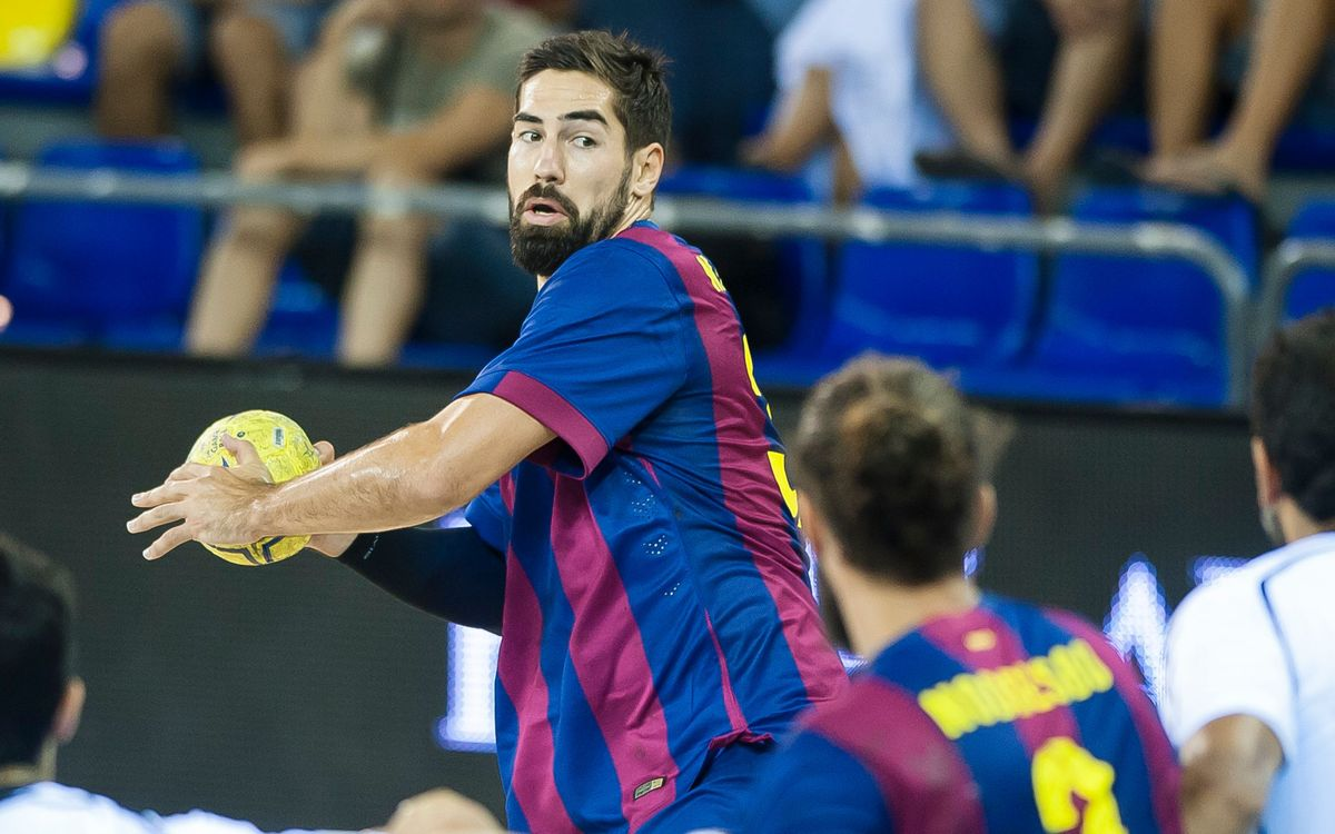 BM Benidorm v FC Barcelona: Still top of the league (25-28)