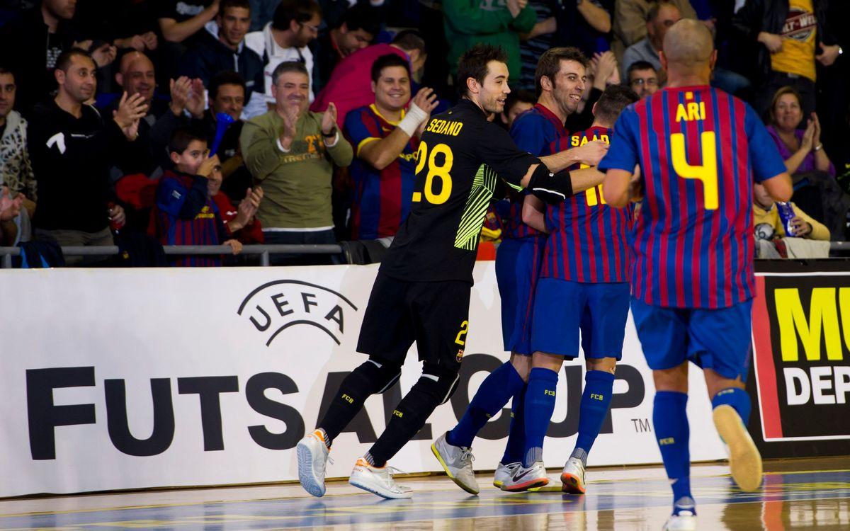 El Palau Blaugrana, seu de l'Elite Round de la UEFA