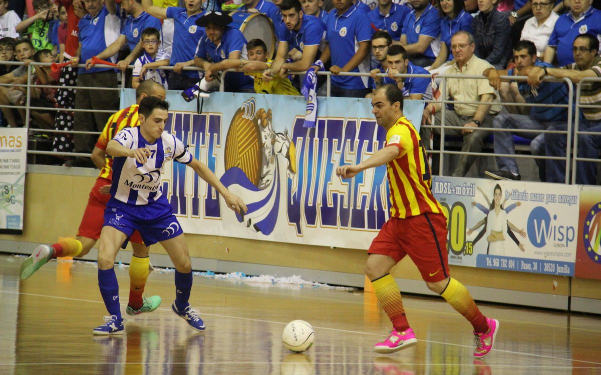 Jumilla v FC Barcelona: First point claimed (3-5)