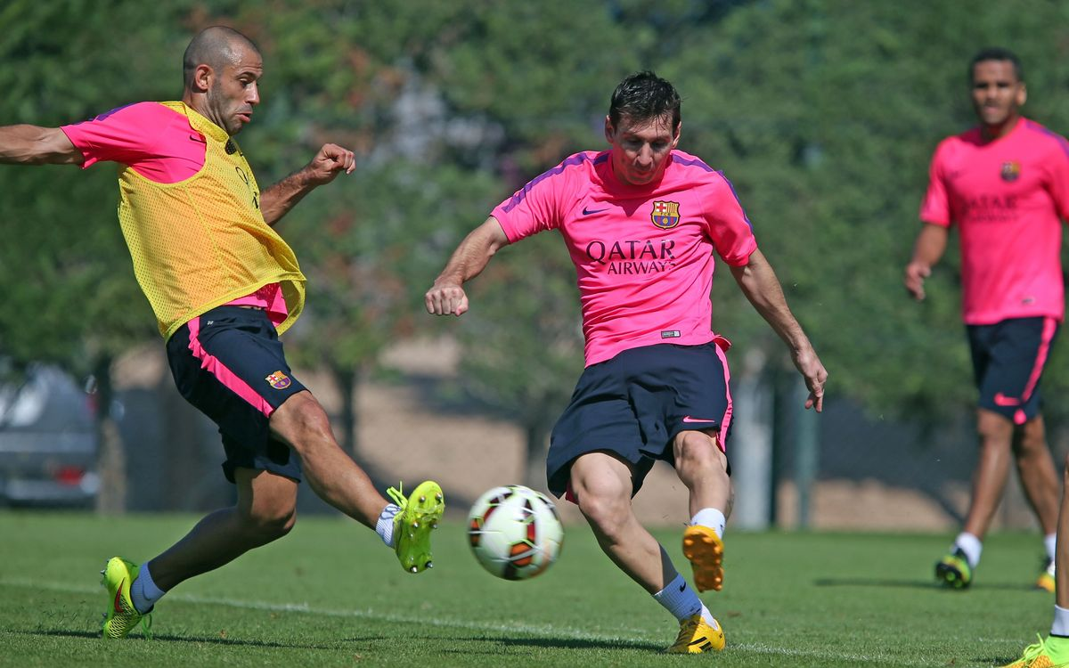 Mathieu, Iniesta and Messi fit to play; Alves out