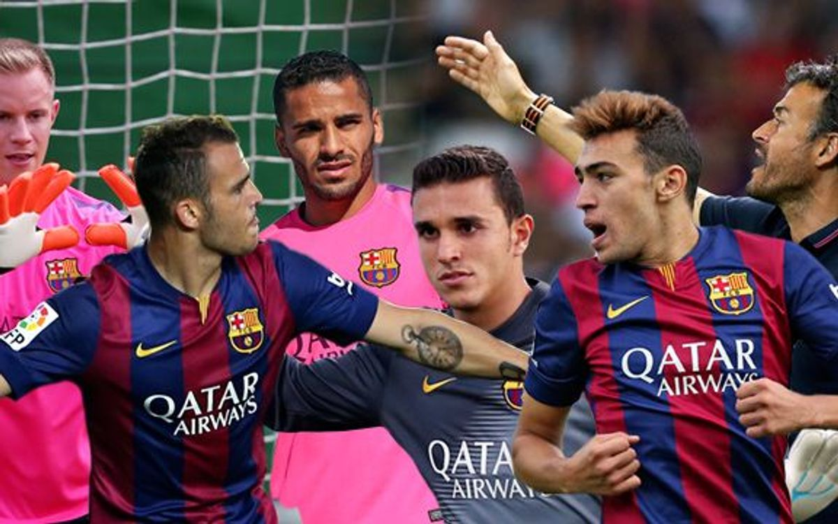 FC Barcelona players who could make Champions League debut
