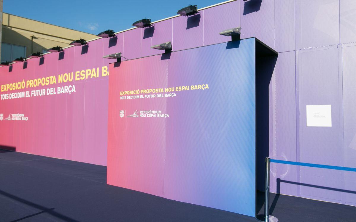 L'exposició permanent del Nou Espai Barça tancarà el 30 de juny