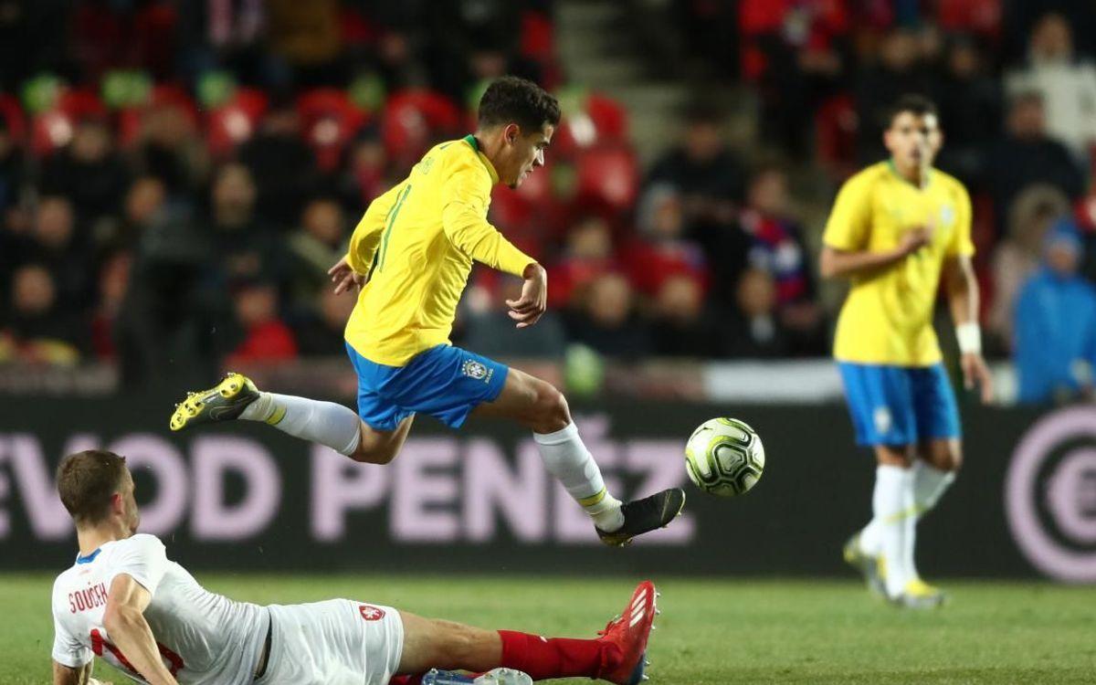 Coutinho, Arthur y S.Roberto brillan