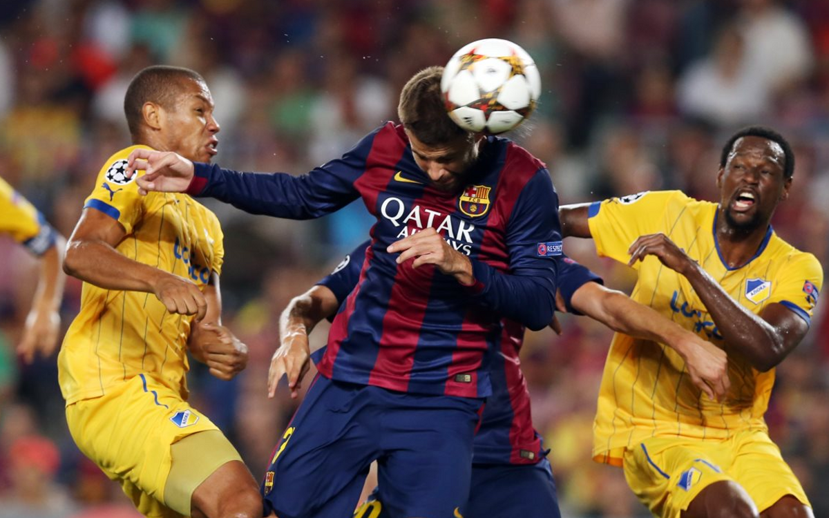 APOEL v FC Barcelona: Did you know...