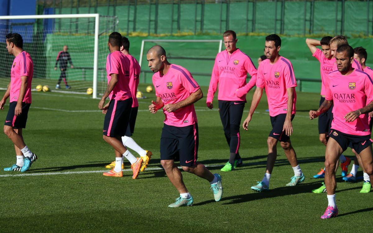 A week preparing for Sevilla