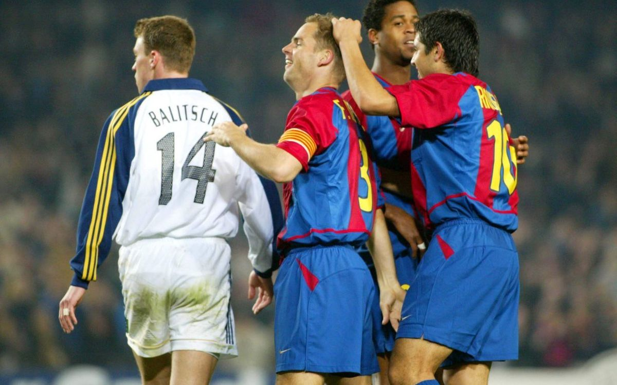 Frank de Boer's goals for FC Barcelona