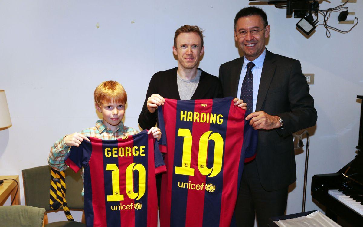 El FC Barcelona, present en la vetllada inaugural d'Ibercamera