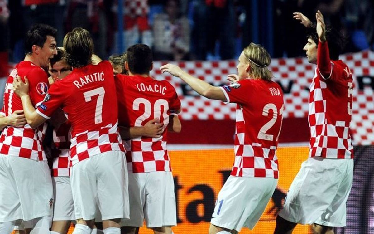 Rakitic and Halilovic help Croatia to thump Azerbaijan (6-0)