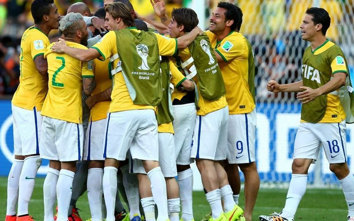 Brazil, without Neymar, chasing World Cup Final slot