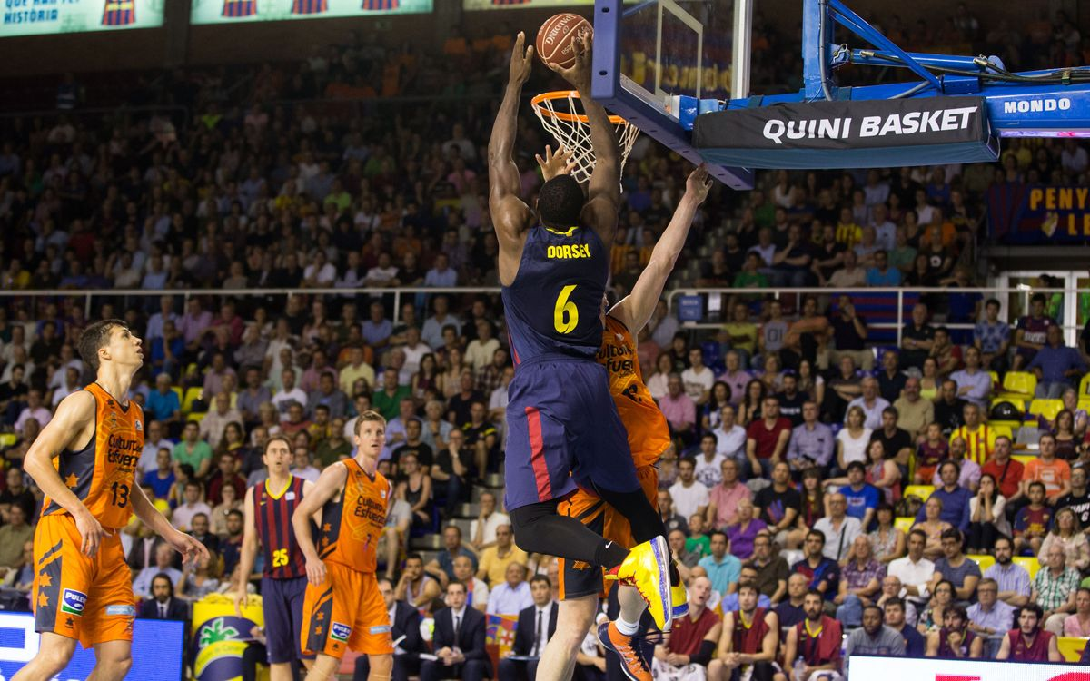 Los mates de Dorsey contra el Valencia Basket