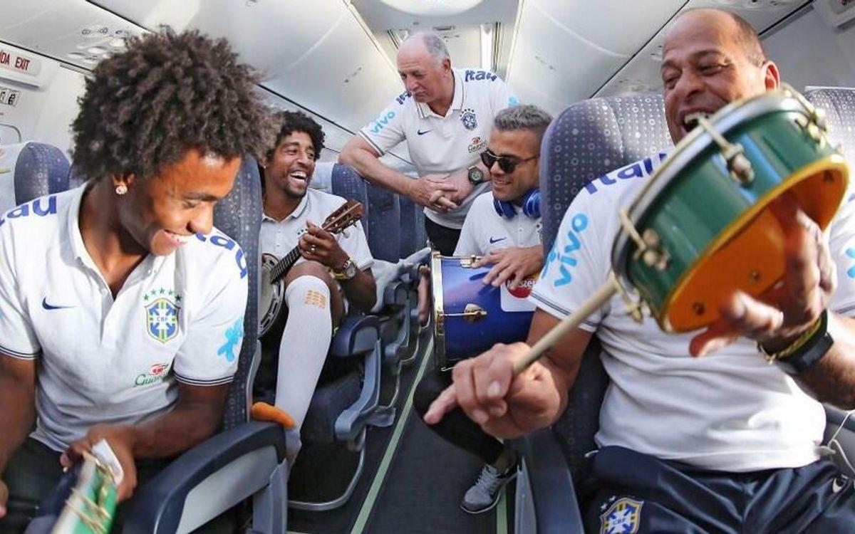 Day of travel in Brazil