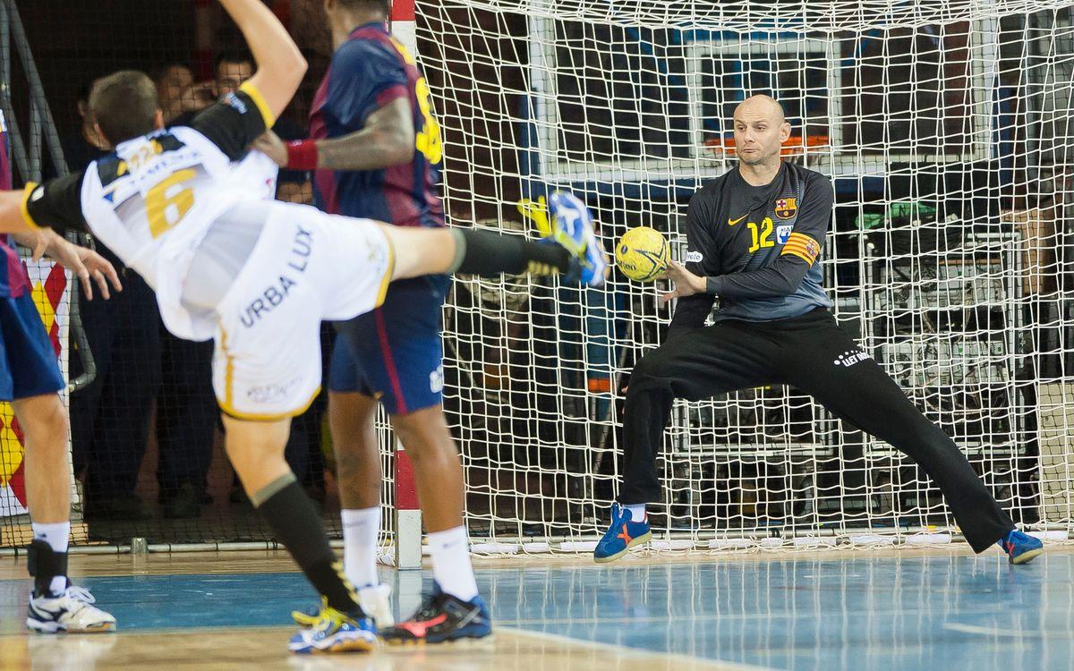 La Lliga continua per al Barça d'handbol