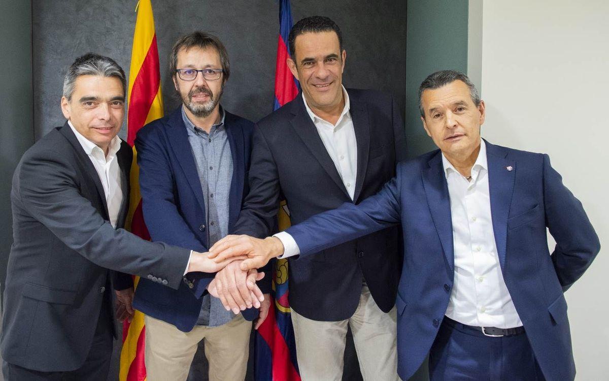 Acord per a la renovació d'Edu Castro fins al 2022
